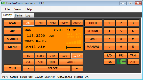 Unidencommander Uniden Commander Radio Control Software For Uniden Scanners